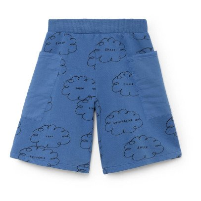 Bobo Choses Organic Cotton Cloud Pocket Bermuda Shorts-listing