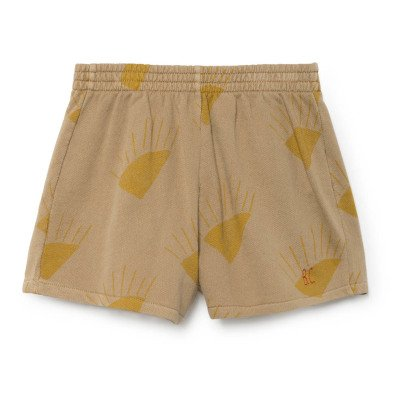 Bobo Choses Organic Cotton Sun Running Shorts-listing
