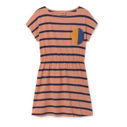 Bobo Choses Organic Cotton Striped Dress-listing