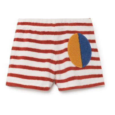 Bobo Choses Striped Sweat Shorts-listing