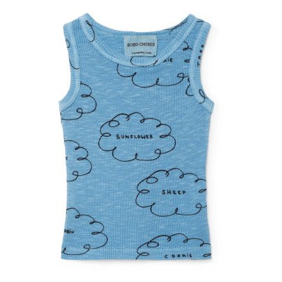 Bobo Choses Organic Cotton Cloud Vest Top-product