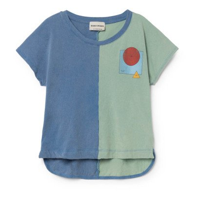 Bobo Choses Zweifarbiges T-Shirt aus Bio-Baumwolle World-listing