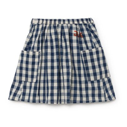 Bobo Choses Pocket Gingham Skirt-listing
