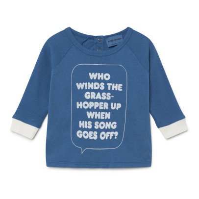 Bobo Choses Organic Cotton Grass Hopper Up T-Shirt-listing