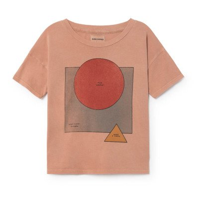 Bobo Choses T-Shirt aus Bio-Baumwolle The World-listing