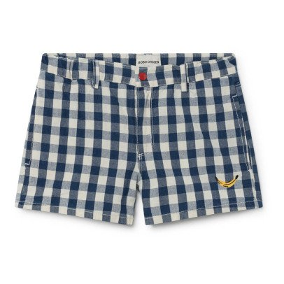 Bobo Choses Banana Gingham Shorts-listing