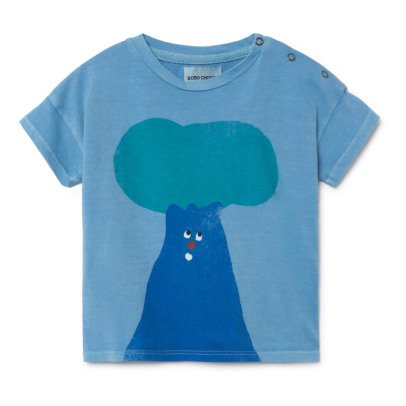 Bobo Choses Organic Cotton Tree Popper T-Shirt-listing