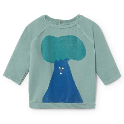 Bobo Choses Organic Cotton Tree Sweatshirt-listing