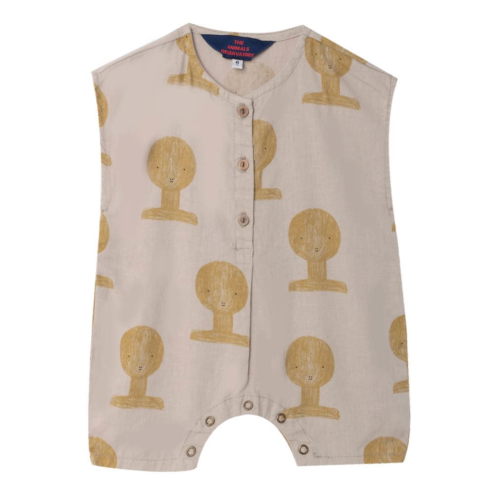 Sale - Goose Apple Dot Dungarees - The Animals Observatory The Animals Observatory e2321