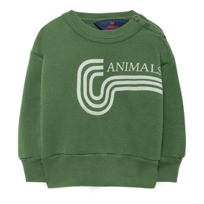 The Animals Observatory Bear Jersey Animal Sweatshirt-listing