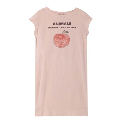 The Animals Observatory Parakeet Apple T-Shirt Dress-listing