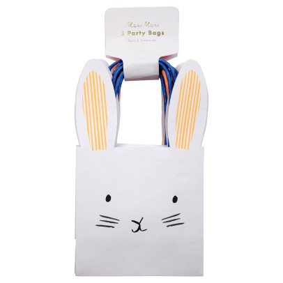 Meri Meri Rabbit Paper Bags - Set of 8-product