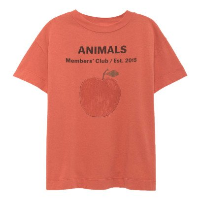 The Animals Observatory Rooster Peach Animals T-Shirt-listing