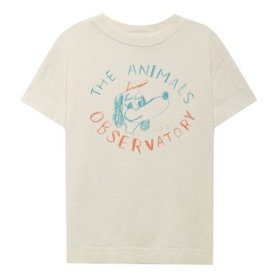 The Animals Observatory T-SHirt Hund Rooster-listing