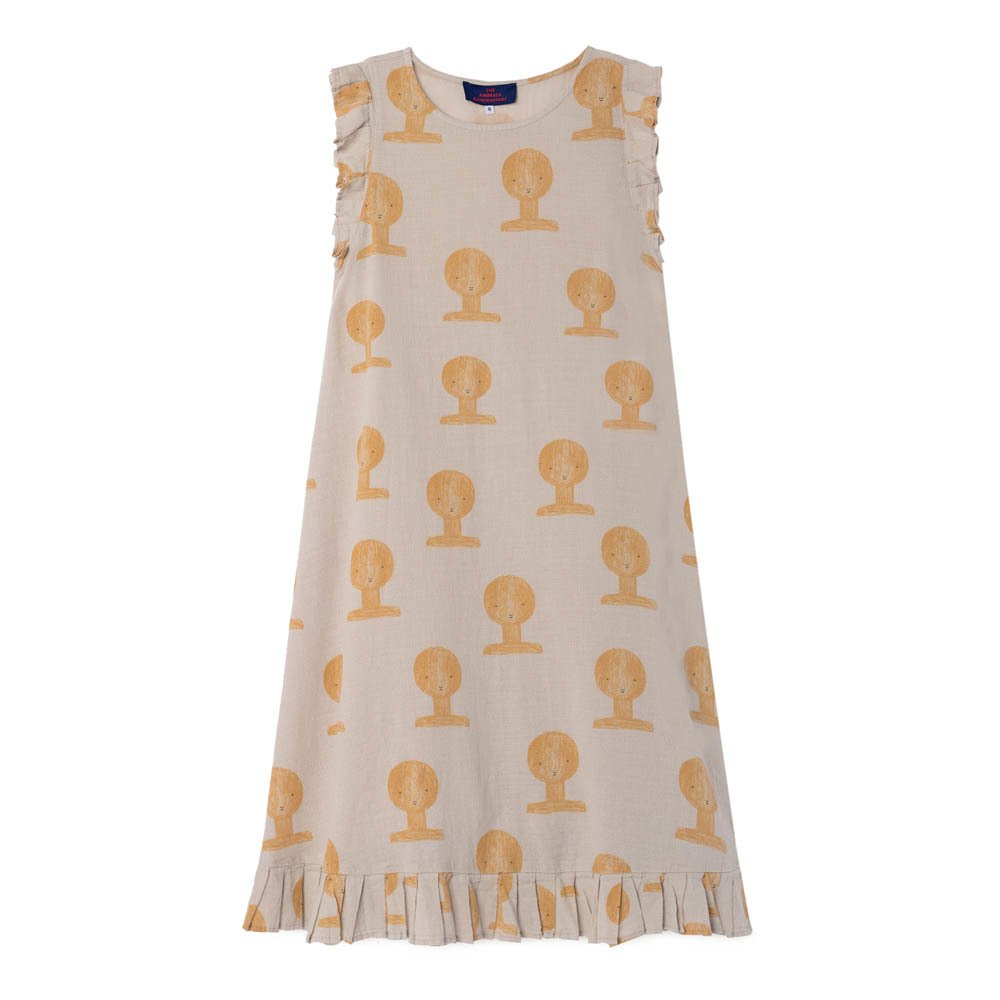 Sale - Dolphin Belted Mesh Maxi Dress - The Animals Observatory The Animals Observatory KMJZkfhFpM