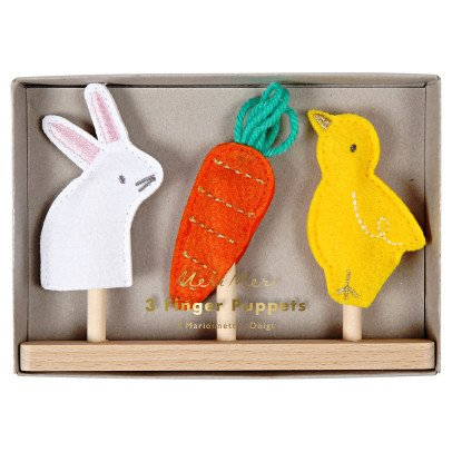 Meri Meri Easter Finger Puppets - Set of 3-listing
