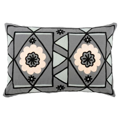 Smallable Home Coussin brodé fleuri-product