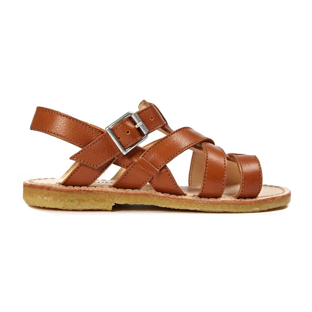 Sale - Multi Bridle Leather Buckled Sandals - Angulus Angulus NzQvh