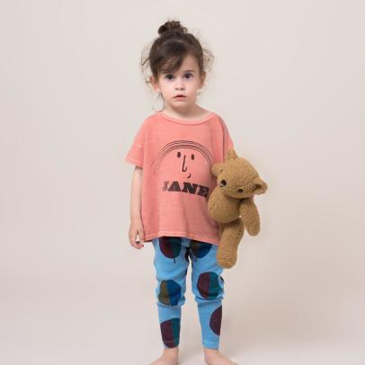Bobo Choses T-shirt stampa Jane in coton bio -listing