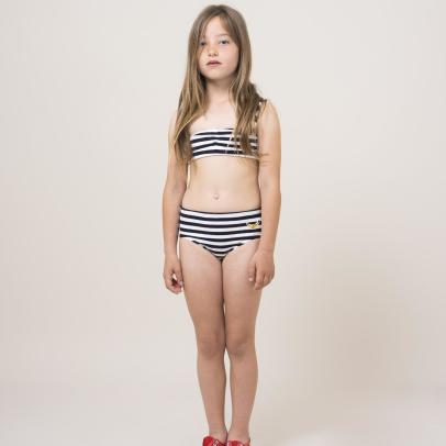 Bobo Choses Banana Striped Sweat 2 Piece Swimsuit-listing