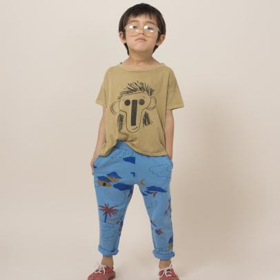 Bobo Choses Organic Cotton Monkey T-Shirt-listing