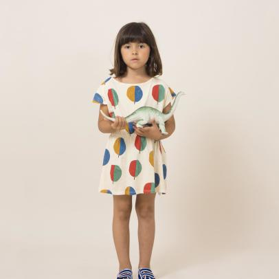Bobo Choses Organic Cotton Tree Dress-listing