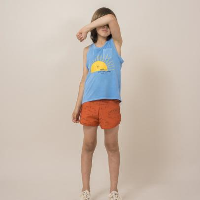 Bobo Choses Organic Cotton Cloud Shorts-listing