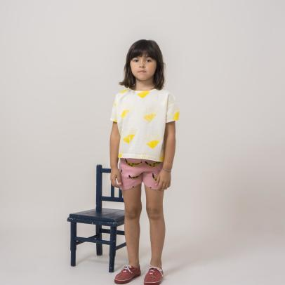 Bobo Choses Banana Knit Shorts-listing