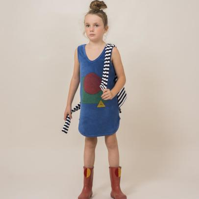 Bobo Choses Frottier-Kleid The World -listing