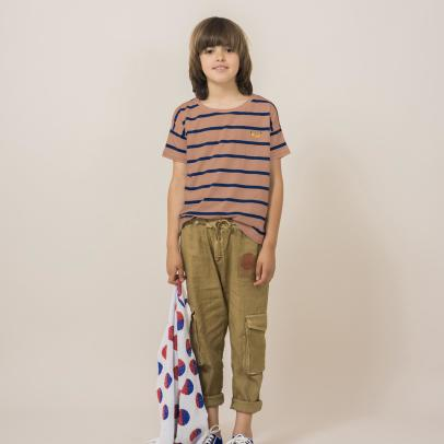 Bobo Choses Linen Cargo Trousers-listing
