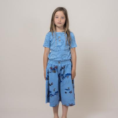 Bobo Choses Cloud Buttoned T-Shirt-product