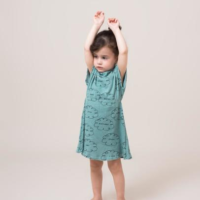 Bobo Choses Organic Cotton Cloud Dress-listing
