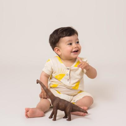Bobo Choses Organic Cotton Sun Jumpsuit-listing
