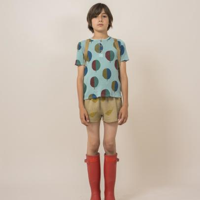 Bobo Choses Organic Cotton Tree Buttoned T-Shirt-listing