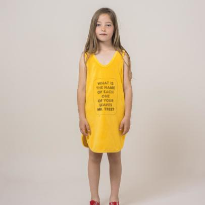 Bobo Choses Frottier-Kleid Mr Tree-listing