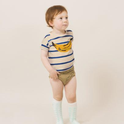 Bobo Choses Organic Cotton Banana Popper T-Shirt-listing