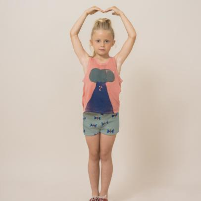 Bobo Choses Frottier-Shorts Schmetterling -listing