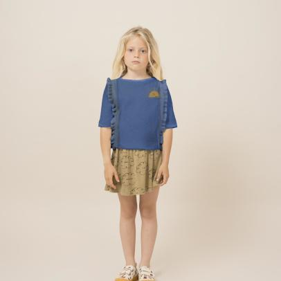Bobo Choses Organic Cotton Cloud Skirt-listing