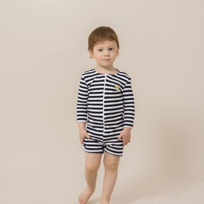 Bobo Choses Striped Sweat Wetsuit-listing