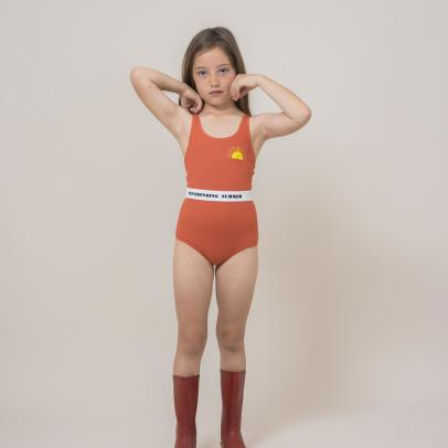 Bobo Choses Sun Belted 1 Piece Swimsuit-listing