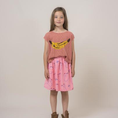 Bobo Choses Blusa in pizzo banana -listing