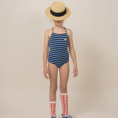 Bobo Choses Striped Sweat 1 Piece Swimsuit-listing