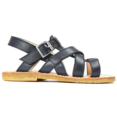 Angulus Multi Bridle Leather Buckled Sandals-listing