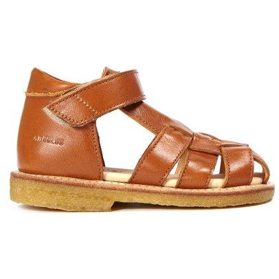 Sandales Cuir Tige Haute