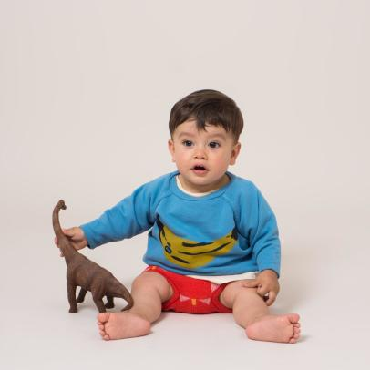 Bobo Choses Organic Cotton Banana Sweatshirt-listing