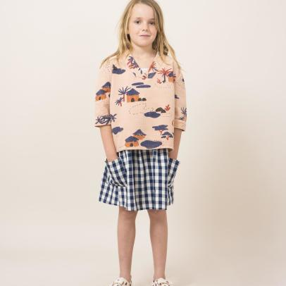 Bobo Choses Village Kimono Blouse-product