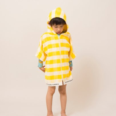 Bobo Choses Gingham Dressing Gown-listing