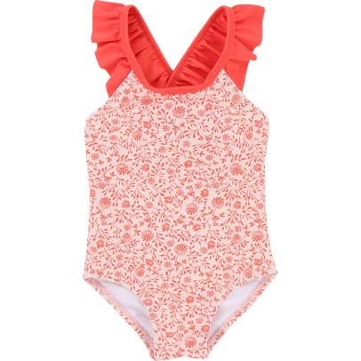CARREMENT BEAU Floral 1 Piece Swimsuit-listing