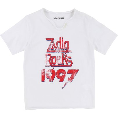Zadig & Voltaire T-Shirt Art Is Truth Isac-listing