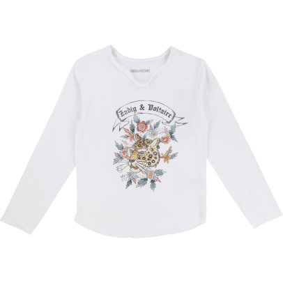 Zadig & Voltaire Boxo Floral T-Shirt-listing